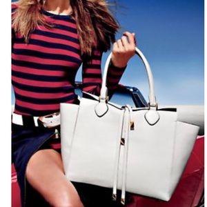 33a853d98a90 Michael Kors. Michael Kors Optic White Miranda Satchel